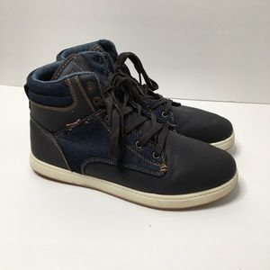 Levi's Denim High Top Shoes